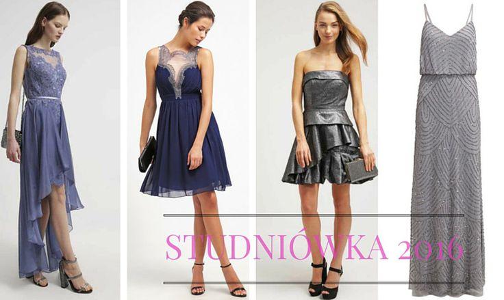 Sukienki i stylizacje na studniówkę 2016