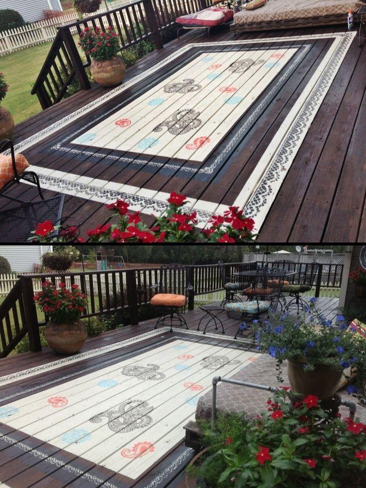 194 Best Painted Floors Images On Pinterest Flooring