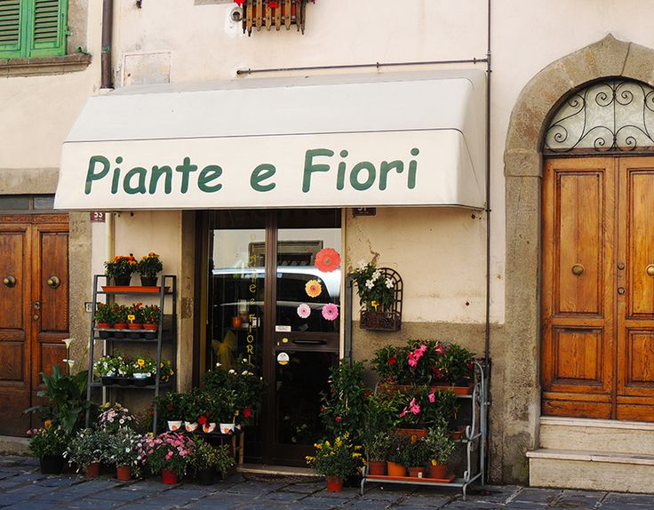 Florist shop on the main street.