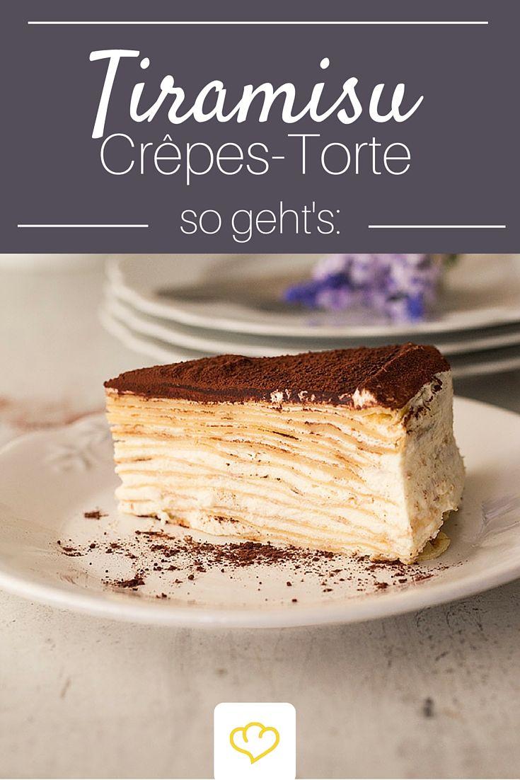 Wenn sich #Tiramisu und zarte #Crepes zusammentun entsteht ein Genuss der seines Gleichen sucht!
