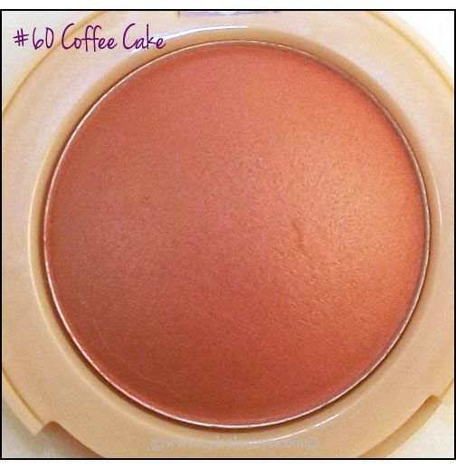 maybelline coffee cake blush... near exact dupe of my favorite tarte blush green siren (discontinued).