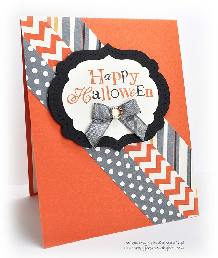 Halloween Card Making Ideas Part - 37: Handmade Paper Flower Camellia Just Do It Handmade Invitation Handmade  Valentines Cards Handmade Halloween Card Diagonal Paper By CardC.