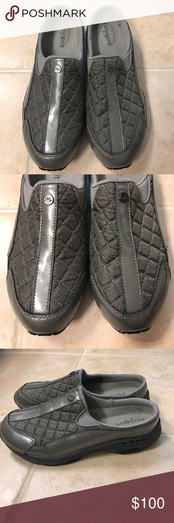 Size 7.5 M grey Easy Spirit slip on shoes Size 7.5 M grey Easy Spirit slip on shoes Easy Spirit Shoes Mules & Clogs