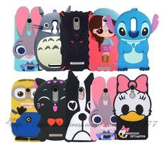For Xiaomi Redmi Note 4 Case 5.5 inch Cartoon Minions Stitch Minnie Dog Daisy Silicone Back Cover redmi note 4 pro phone Case