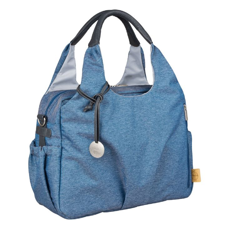LÄSSIG Wickeltasche Green Label Global Bag Ecoya blue #Wickeltasche #stylisch #Blau