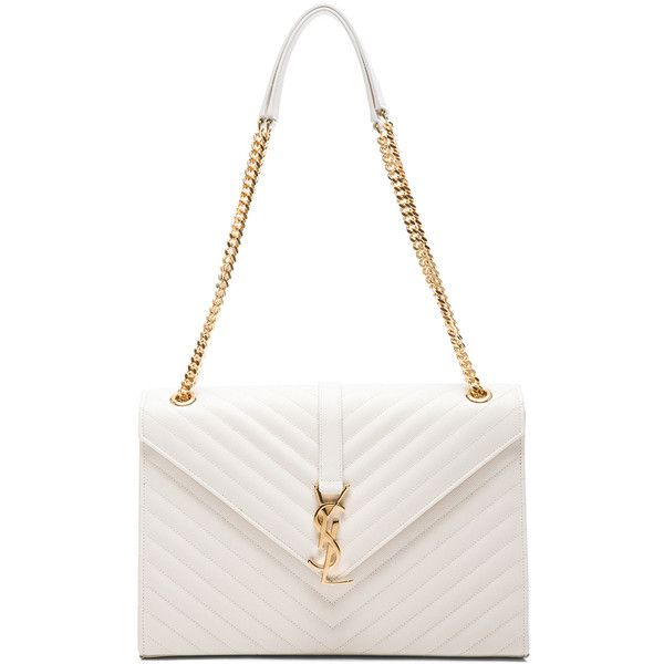 Saint Laurent Large Monogram Envelope Chain Bag (\u20ac2.430) ? liked ...