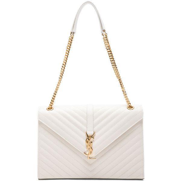 Saint Laurent Large Monogram Envelope Chain Bag (\u20ac2.430) ? liked ...