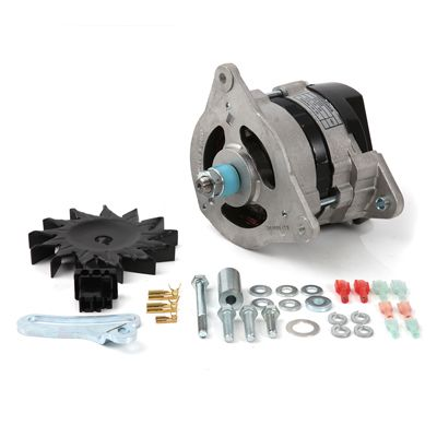 The performance and durability benefits of converting to an alternator are now easier than ever to achieve. Our complete Alternator Kit has everything you need all in one part number. There are many great features built in to this kit. We've even got detailed instructions to help you! #TR2 #TR3 #TR4 #britishsportscar