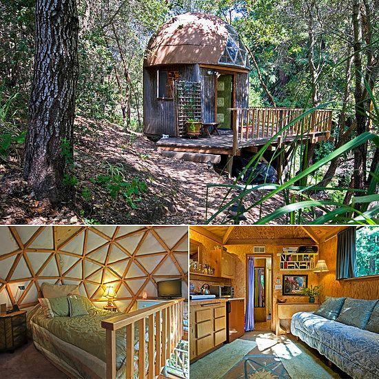 More Like Mushroom Houseu2013Amazing Tree House Rentals