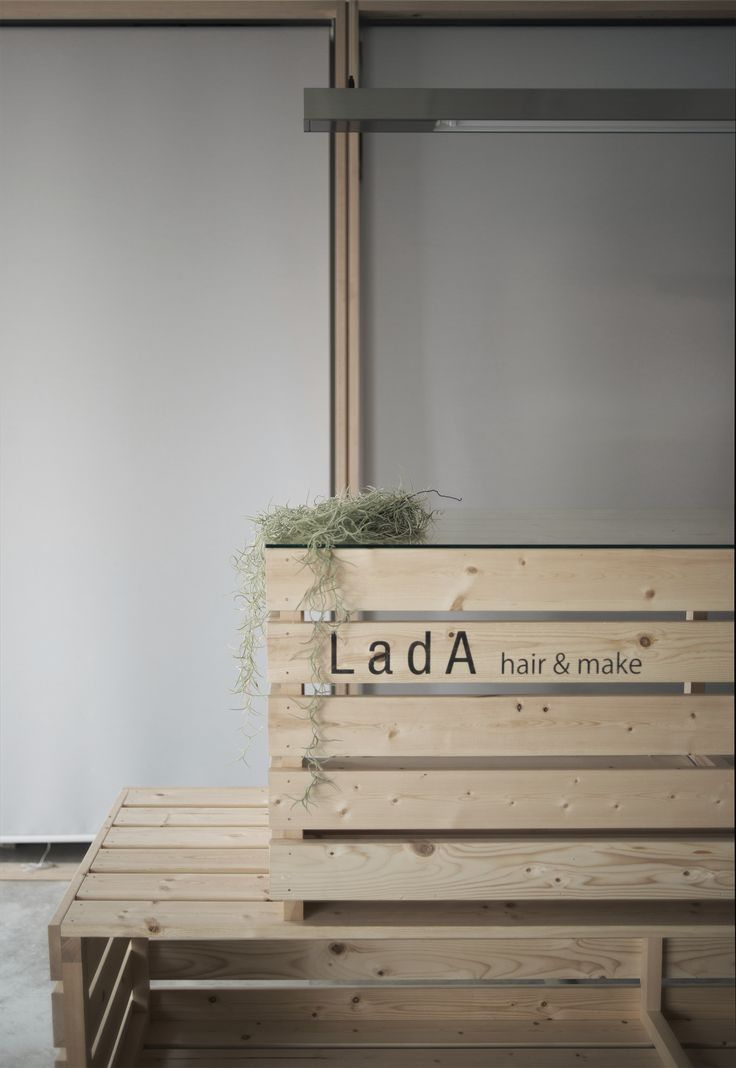 salon design/reception counter