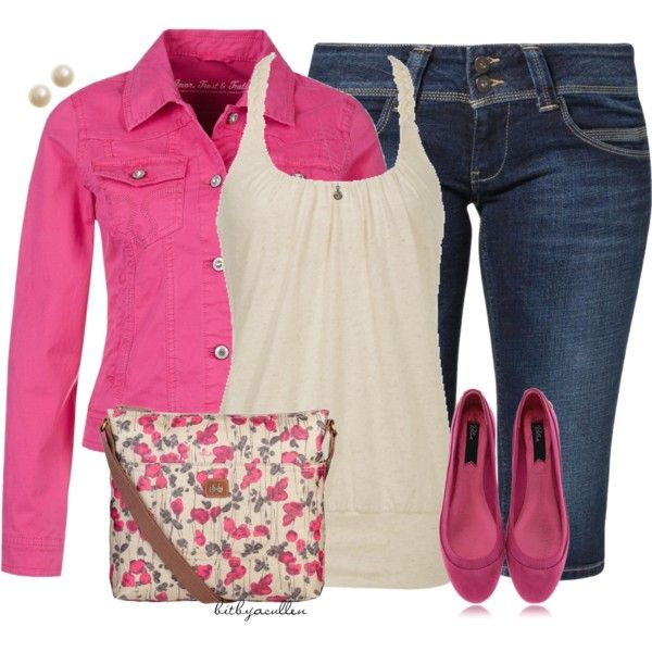 """Berry Pink"" by bitbyacullen on Polyvore"