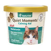 NaturVet Quiet Moments Cat Calming Aid Supplements