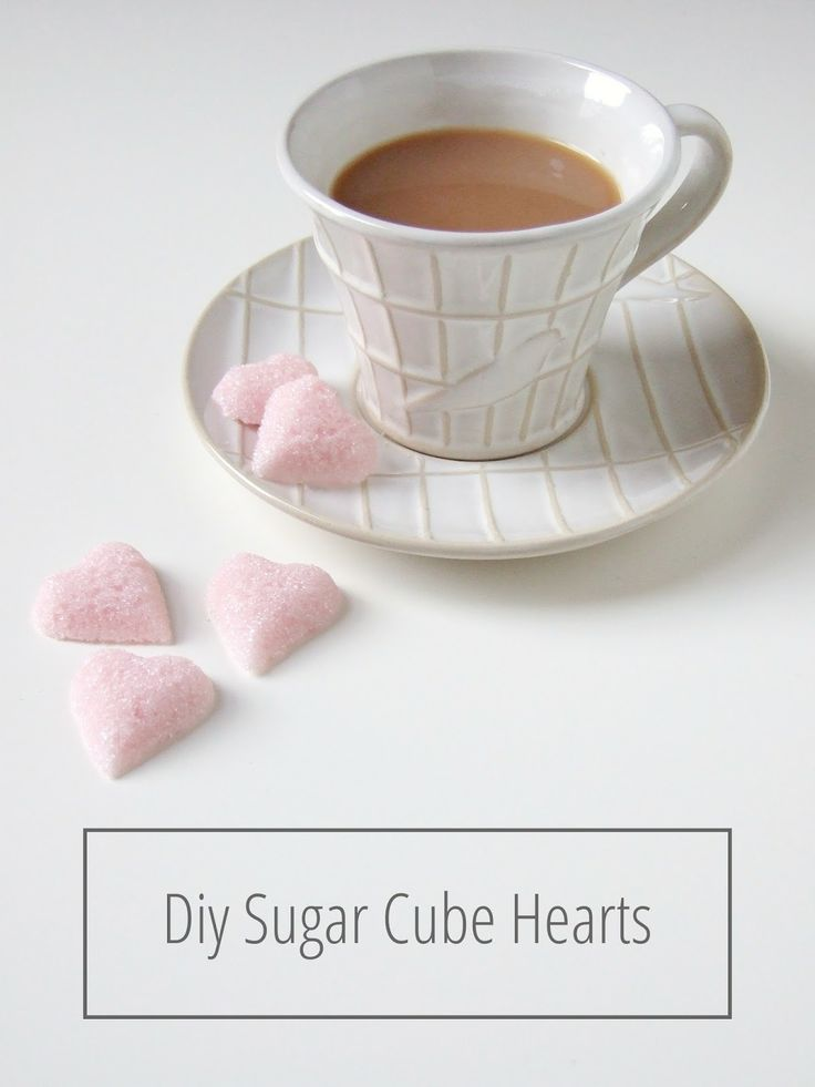 Diy Sugar Cube Hearts
