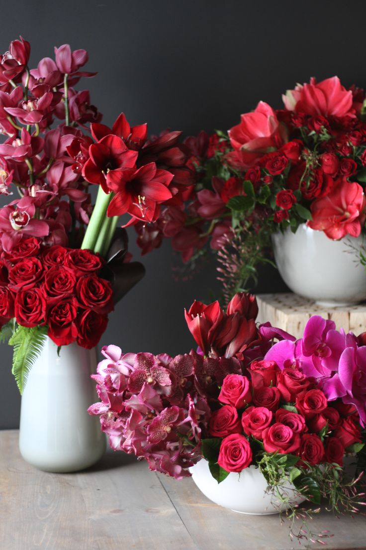 84 best valentines day collection images on pinterest a beautiful display of rouge valentine enchantment and orchid splendor by dhlflorist Image collections