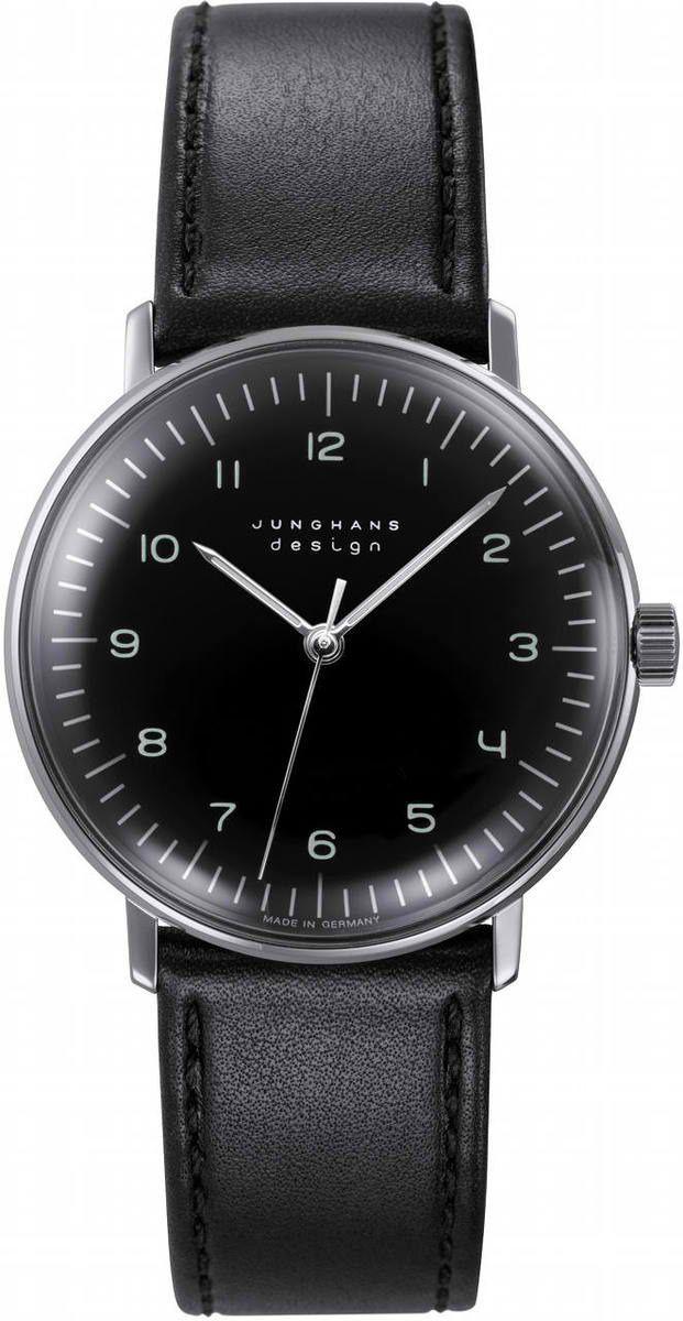 Max Bill Stainless Steel Wrist Watch MB-3702 visit shopbalthazar.com