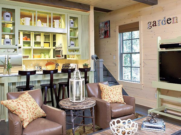 Pics Of Cottage Style Living Rooms | Comfy Cottage Living Room   MyHomeIdeas .com