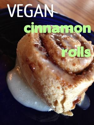 What Vegan Kids Eat: Easy VEGAN Cinnamon Rolls - no yeast, very fast prep, great reviews, I guess I'll make these for @Cari Kirla Kirla Kirla Zuckerman someday, I'm not a huge fan but I know she loves em