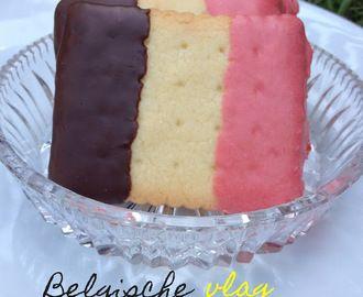 EK voetbal : Belgische vlag koekjes