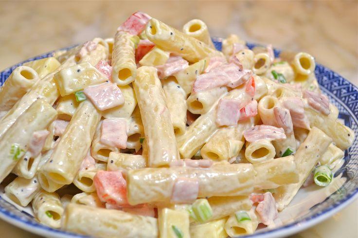 Sonkás tésztasaláta 15 perc alatt – villámgyors étel, ha nincs időd főzni ezt…