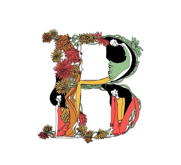Lara Costafreda crea su alfabeto ilustrado en base a los sueños