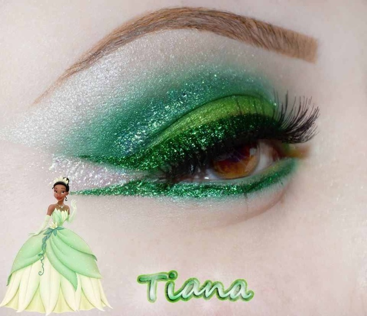 Disney Princess Tiana Waterfall Nail Art: 1000+ Images About Disney Inspired Make-up, Hair & Nails