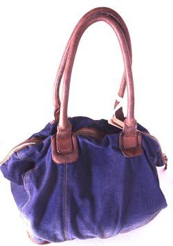 Diesel Tote in denim /blue #diesel #denim #tote #travel #carryon $448 FREE US SHIPPING