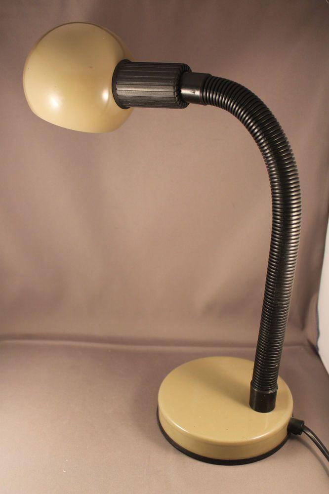 70er Jahre Tischlampe Lampe VENETA LUMI Italy 70s desk table lamp 80er Space Age