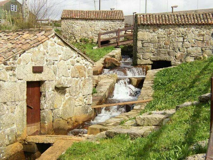 Molinos de batan. Ribadumia #galicia #promospain