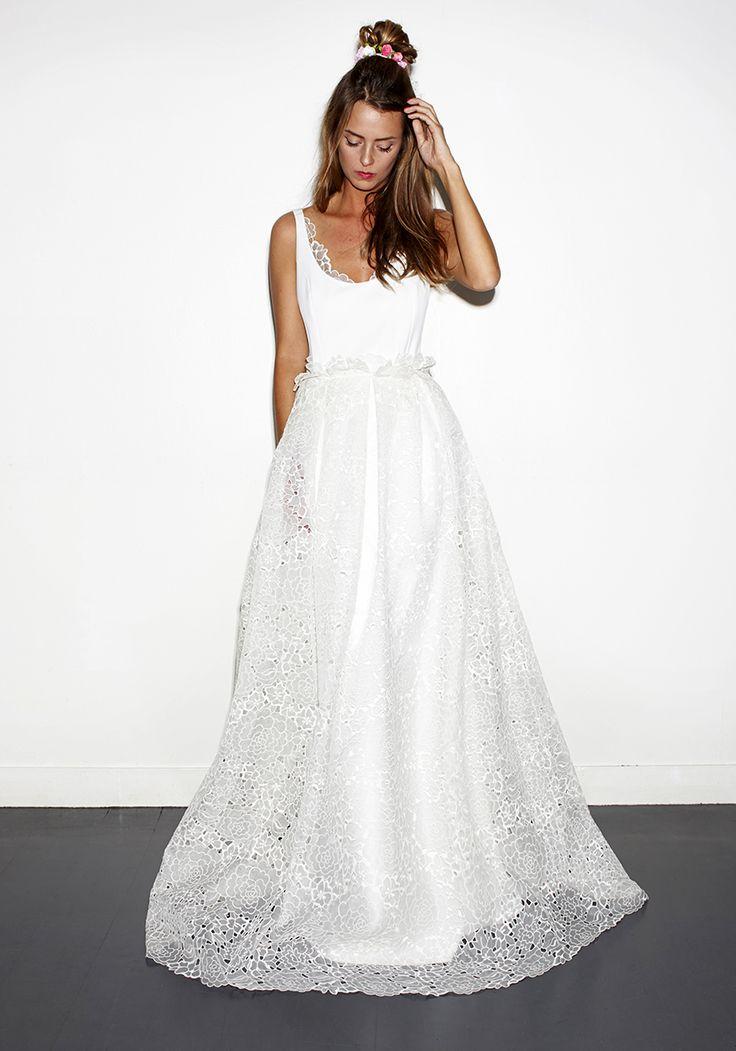 62 best Fashion inspire images on Pinterest | Brides, Wedding frocks ...