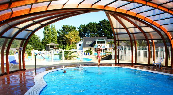 camping bretagne sud, finistère, camping avec piscine couverte