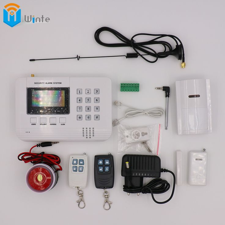 Security GSM Alarm System GSM Alarm System Home security Alarm systems LCD Keyboard with Sensor alarm remoter for security house