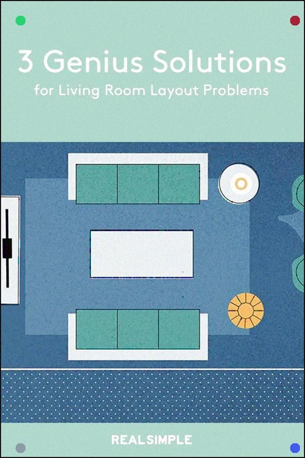 3 Genius Solutions For Living Room Layout Problems The Hangout Zone Of Your Home Can Be Hard To Arrange So Real Simp Room Layout Livingroom Layout Living Room