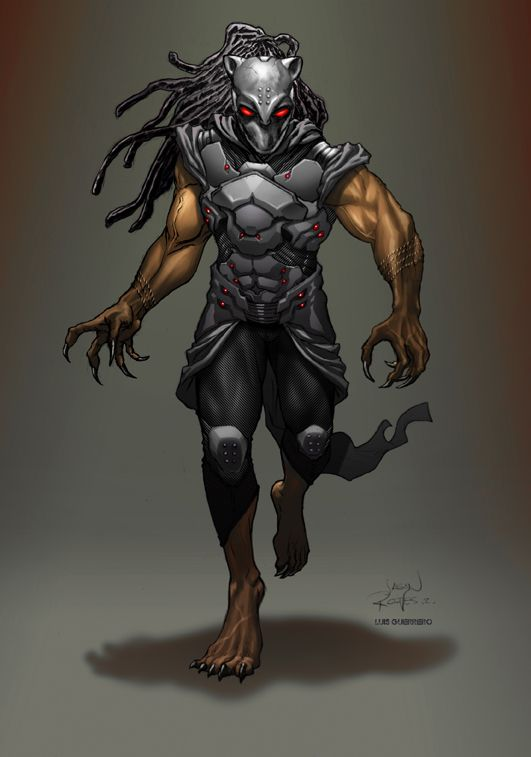 Black Panther Redesign by Jason Reeves
