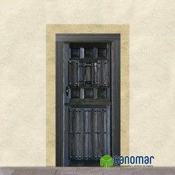 Best 25 puertas de madera rusticas ideas on pinterest for Puertas de madera exterior precios