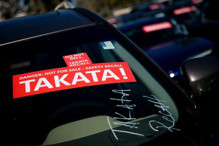 Бракованные подушки безопасности компании Takata. Что делать украинцам?