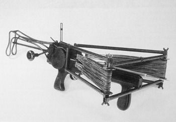 "peashooter85: "" The Big Joe 5 Slingshot Crossbow of World War II, Developed by the Office of Strategic Services (predecessor of the CIA) during World War II, the Big Joe 5 Crossbow was a weapon..."