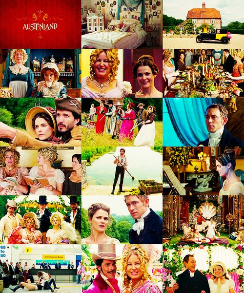 p-explains-it-all:  a-movie-a-day: #85  Austenland (2013) Directed by: Jerusha Hess Starring: Keri Russell, JJ Feild, Jane Seymour, Bret McKenzie, Jennifer Coolidge, Georgia King, Ricky Whittle Plot: An American woman visits a Jane Austen themed resort.