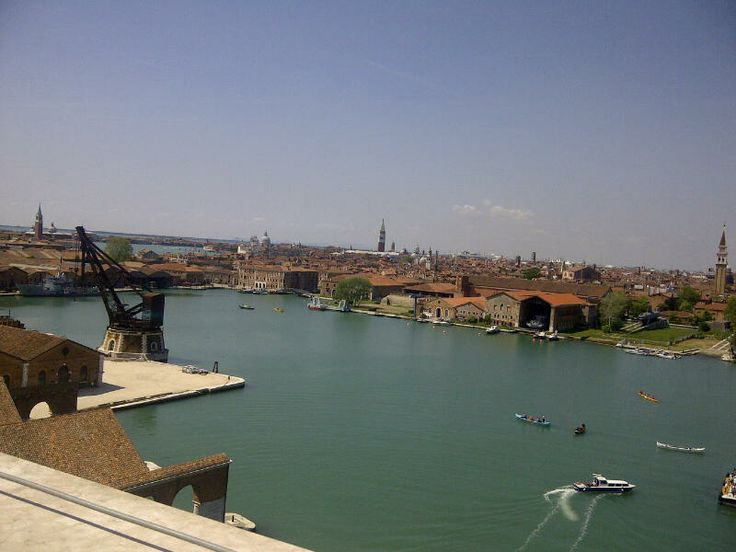 Panorama dalla Torre di Porta Nuova #Venezia