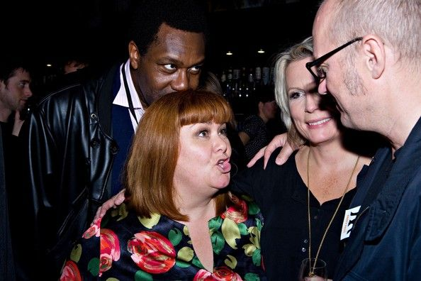 Ade Edmondson and Dawn French - 'French And Saunders Still Alive' After Party