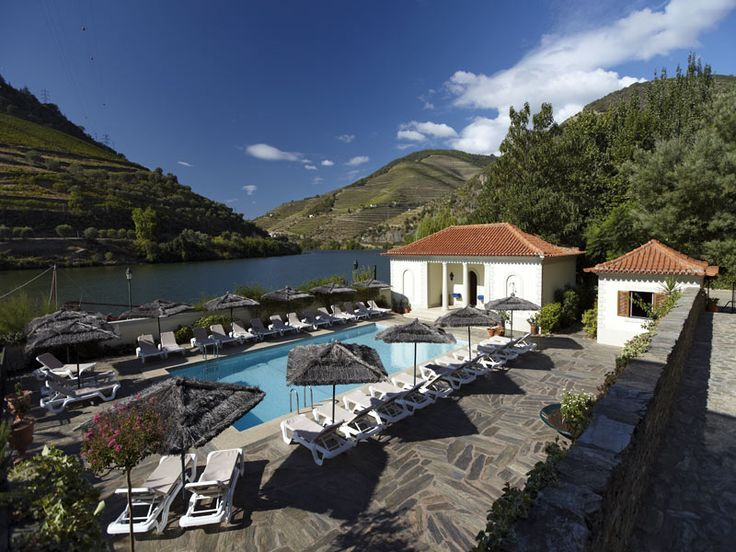 Portugal's Best Wine Hotels - via Nelson Carvalheiro 11.06.2015 | Travel through Portugal through wine! Ahead of you is a day of Portuguese Wine discovery, always accompanied by quaint and candid Portuguese traditional cuisine. Photo: Vintage House Douro, Pinhão - Douro Valley