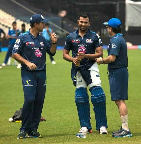 Ricky Ponting, Rohit Sharma and Sachin