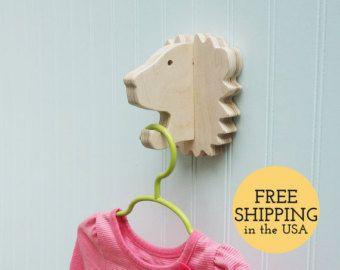 Key hook  Bear head wall hanger for keys glasses and