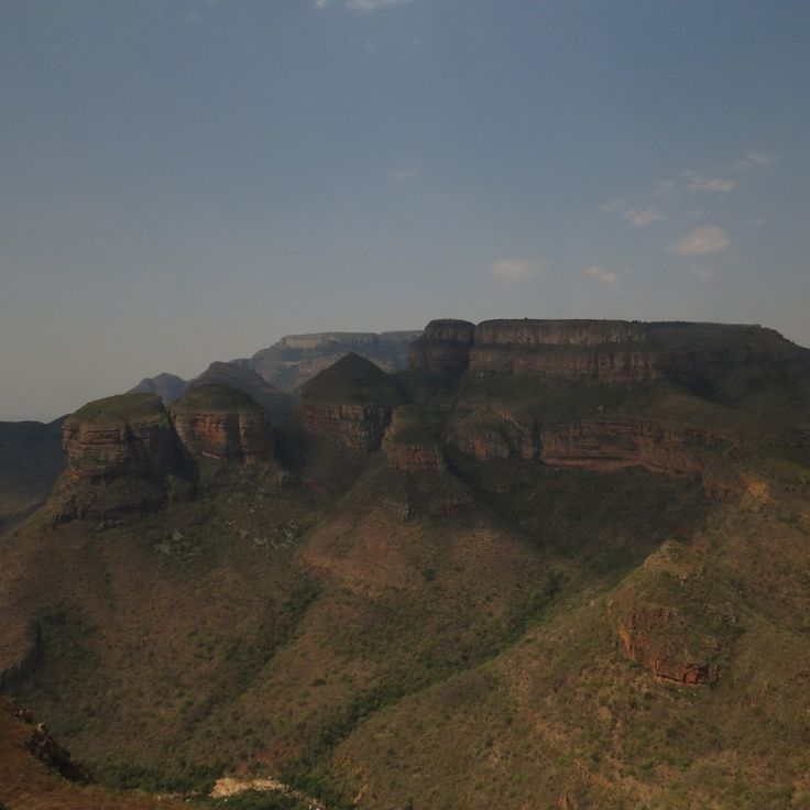 The legendary Three Rondawels in the Blyde River Canyon