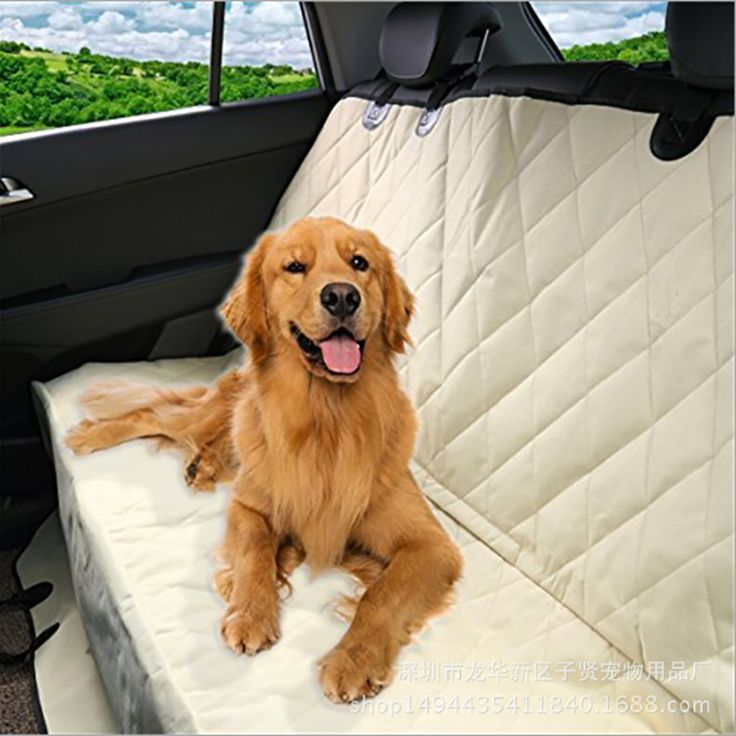 2017 New Safety Waterproof Puppy Pet Mats Black Seat Cover Blanket Cover Mat Hammock Protector Rear Back Seat Cat Dog Car Mat