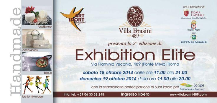 Exhibition elite 2 - ubuntu partecipa alla seconda edizione a Villa Brasini .vi aspettiamo il 18 e il 19 ottobre