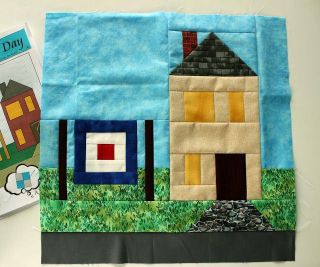 Quilter's Laundry Day block 1