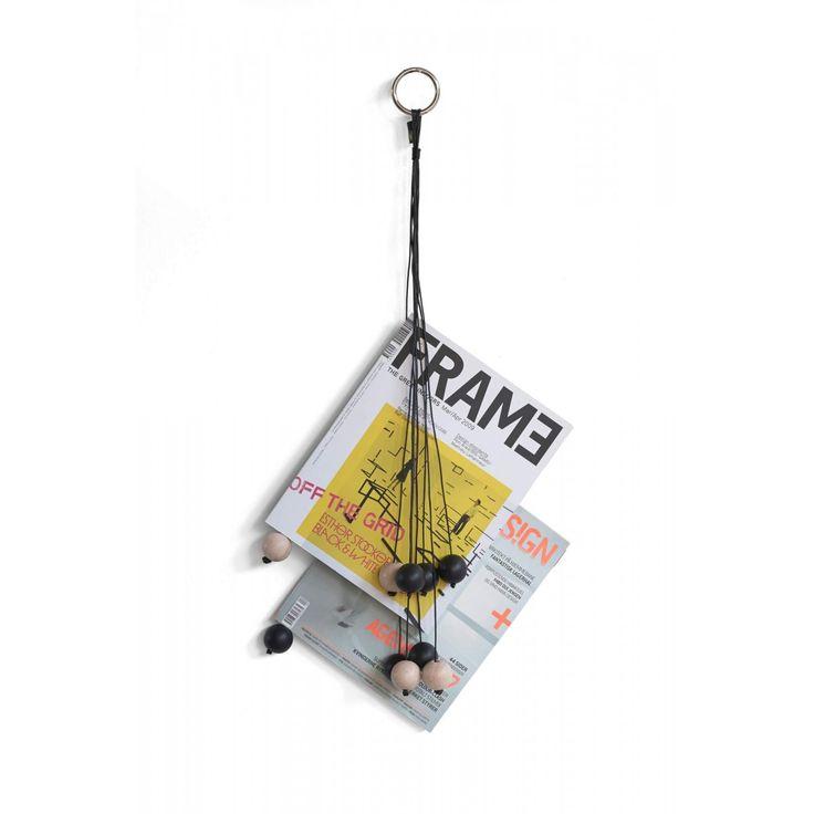 Zeitschriften o Bücher Aufbewahrung Aufhängung an der Wand
