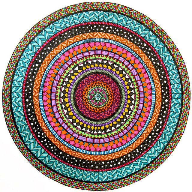 ColourCIRCLEmandala2   Flickr - Photo Sharing!