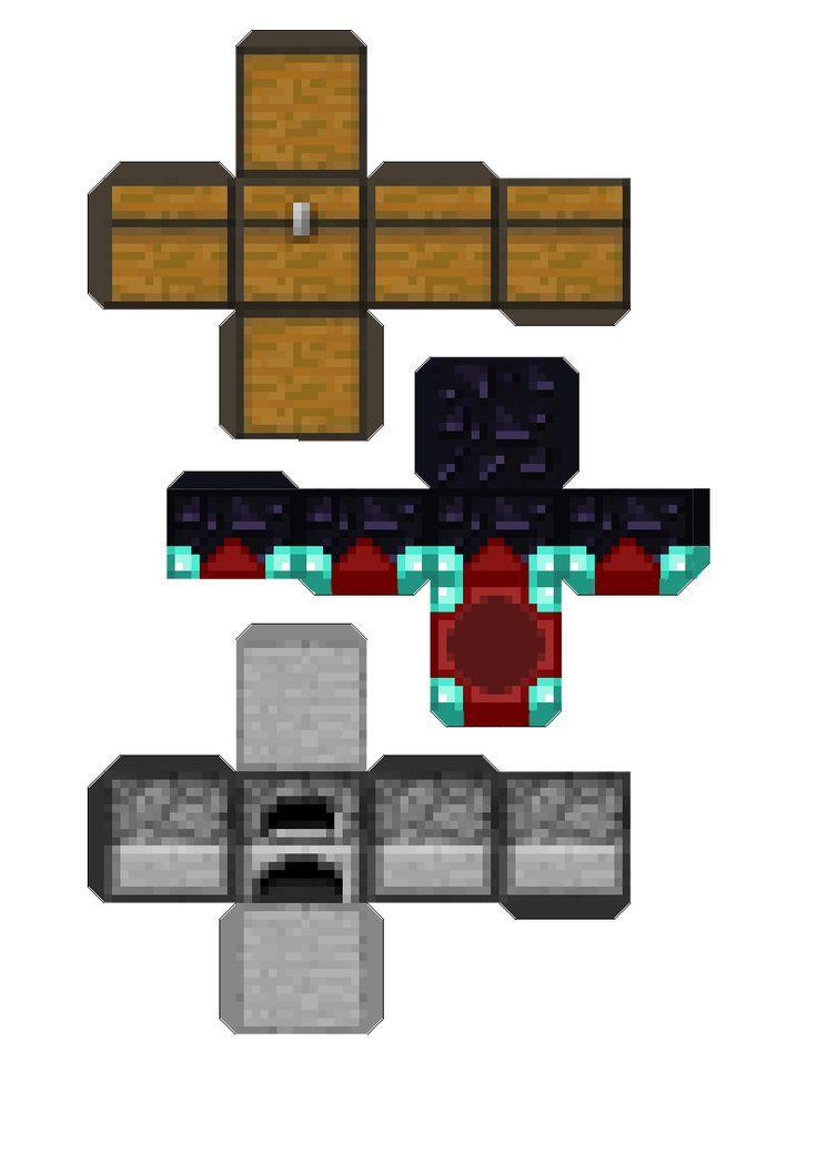 Minecraft Papercraft Troll