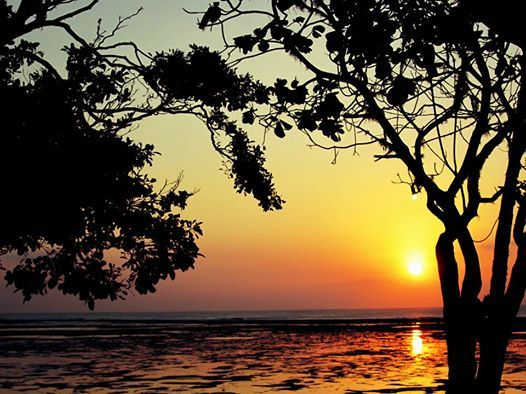 Sunset Photo by Emma Ressom at G-Land Joyos SUrf Camp, East Java, Indonesia